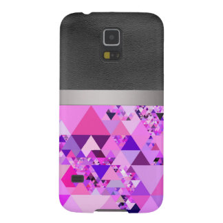 Geo Fun 19 pink (I) Cases For Galaxy S5