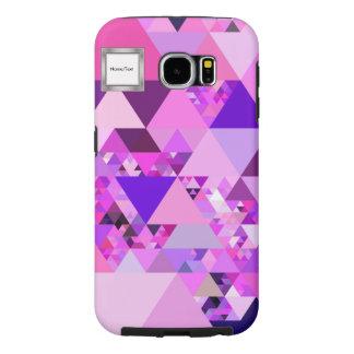 Geo Fun 19 pink (I) Samsung Galaxy S6 Cases