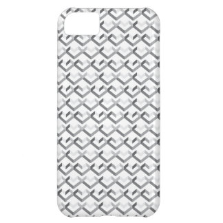 Geo Heart Pattern iPhone 5C Covers
