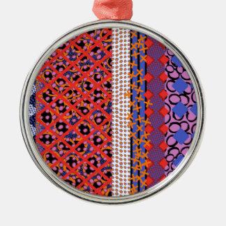 Geo Lattice Metal Ornament