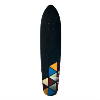 """Geo-Met""  (Geometric Design Skateboard Deck)"