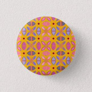 [GEO-OR-1] Cute geometric patterns on orange Button