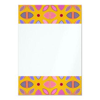 [GEO-OR-1] Cute geometric patterns on orange Card