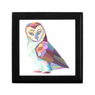 Geo Owl Gift Box