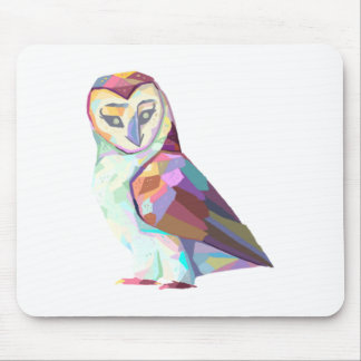 Geo Owl Mouse Pad
