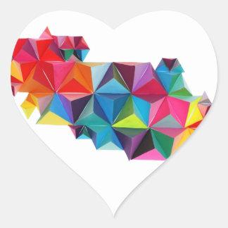 Geo Pegatina En Forma De Corazón