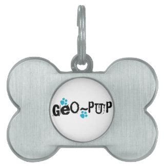 Geo-pup Geocaching Dog Tag