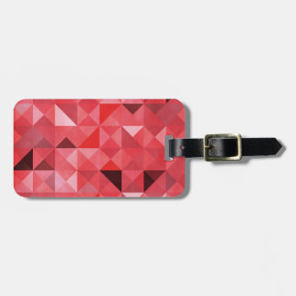 GEO RED LUGGAGE TAGS