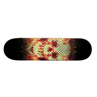 Geo Skull Custom Skate Board