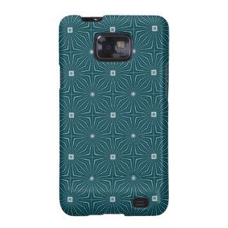Geo Teal Samsung Galaxy SII Cases