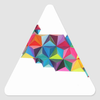 Geo Triangle Sticker