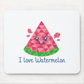 Geo Watermelon Mouse Pad