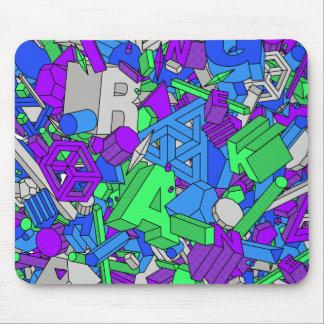 Geo Whiz - Mouse Pad