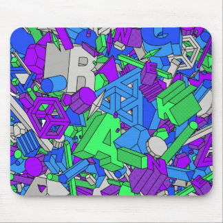 Geo Whiz - Mouse Pads
