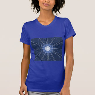 GeoAbstract blue T-shirt
