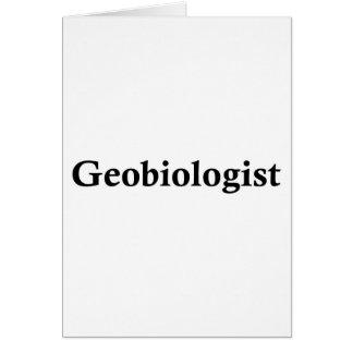Geobiologist Card