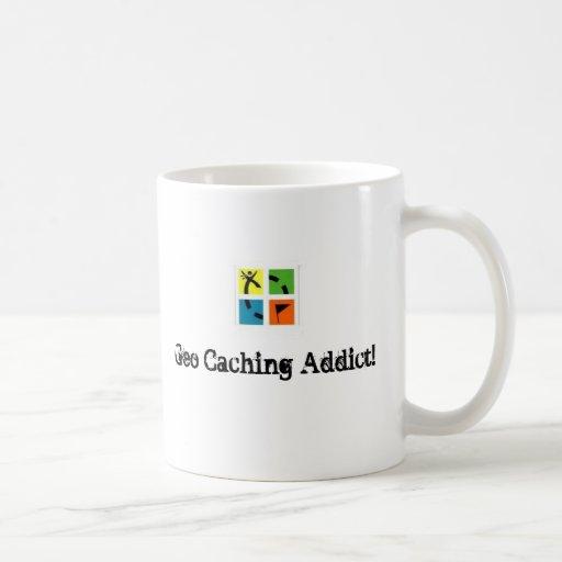geocache2, Geo Caching Addict! Coffee Mug