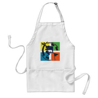 GEOCACHE ALASKA- NORTH TO THE FUTURE ADULT APRON