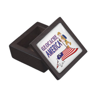GEOCACHE AMERICA DUDE GUY MALE PREMIUM TRINKET BOXES