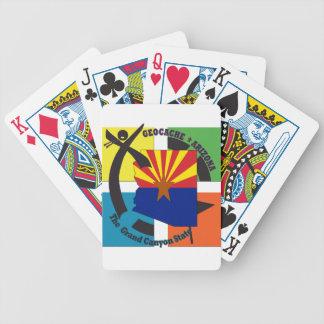 GEOCACHE ARIZONA STATE NICKNAME BICYCLE PLAYING CARDS