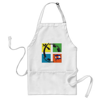 GEOCACHE COLORADO THE MILE HIGH STATE ADULT APRON