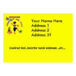 Geocache Come Out And Play Large Business Cards (Pack Of 100)