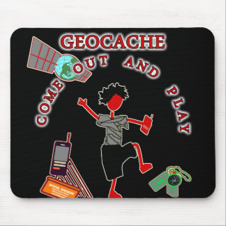 Geocache Come Out And Play Mouse Pad