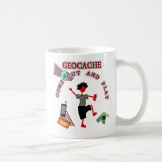 Geocache Come Out And Play Coffee Mug