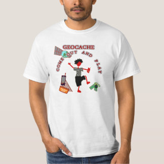 Geocache Come Out And Play T-shirt