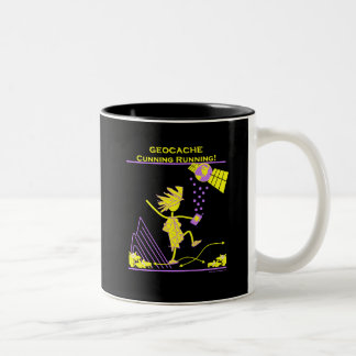 Geocache - Cunning Running Coffee Mugs