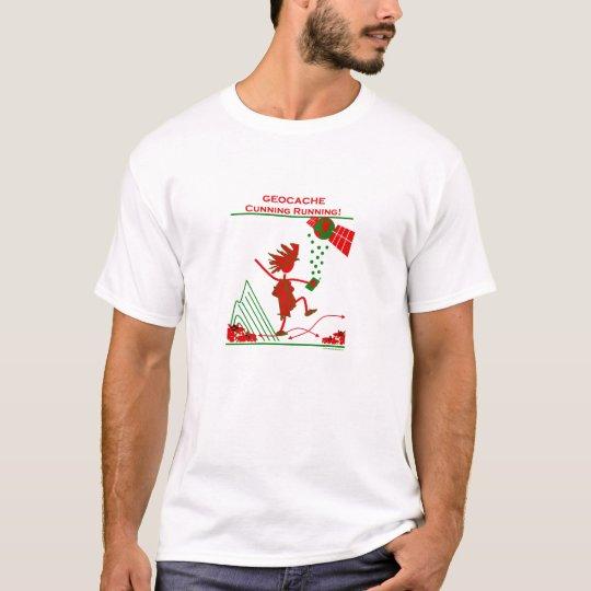 Geocache - Cunning Running T-Shirt