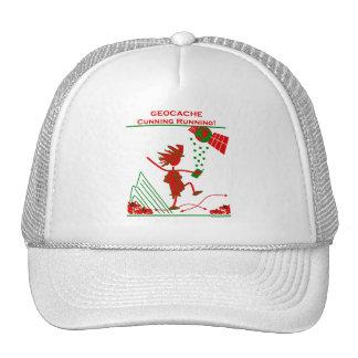 Geocache - Cunning Running Trucker Hat
