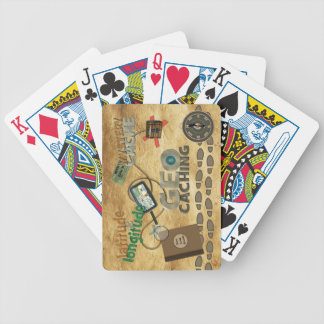 Geocache Fever Bicycle Playing Cards