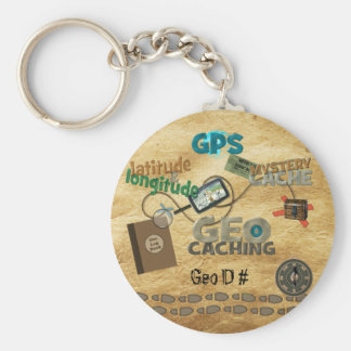 Geocache Fever - Customize Key Chains