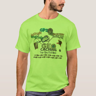 Geocache Fever - Customize with your Geo Number T-Shirt