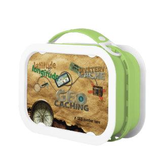 Geocache Fever Lunch Box