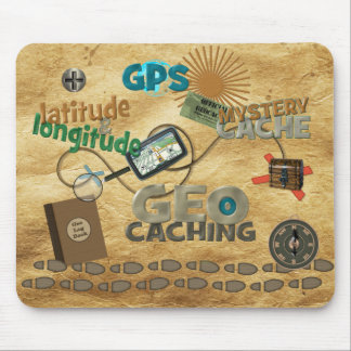 Geocache Fever Mouse Pad
