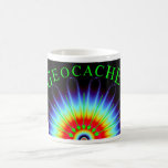 Geocache Fractal Coffee Mug