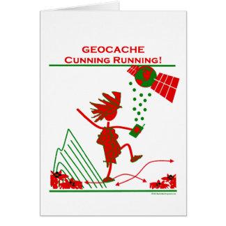 Geocache - funcionamiento astuto felicitación