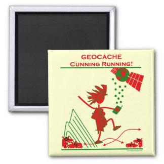 Geocache - funcionamiento astuto imán de frigorifico