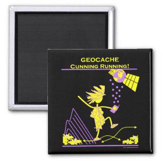 Geocache - funcionamiento astuto imanes de nevera