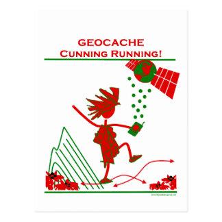 Geocache - funcionamiento astuto postal