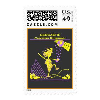 Geocache - funcionamiento astuto sellos