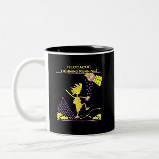 Geocache - funcionamiento astuto taza de café