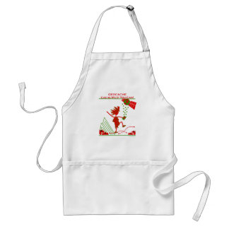 Geocache Gift - Cache me if you can! Gifts & T's Adult Apron