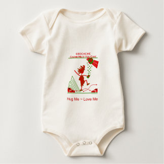 Geocache Gift - Cache me if you can! Gifts & T's Baby Bodysuit
