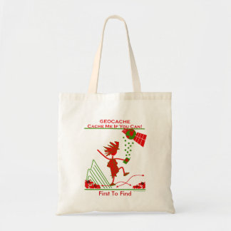 Geocache Gift - Cache me if you can! Gifts & T's Budget Tote Bag