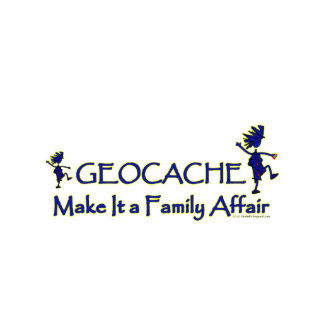 Geocache - hágale un asunto de familia esculturas fotograficas