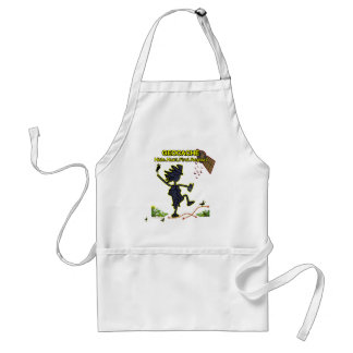Geocache Hide Hunt Find III Adult Apron