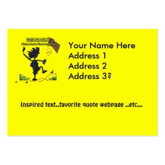 Geocache Hide Hunt Find III Business Card